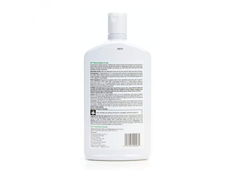 3M Marine Restorer & Wax (09006) - For Boats and RVs - 33.8 Ounces