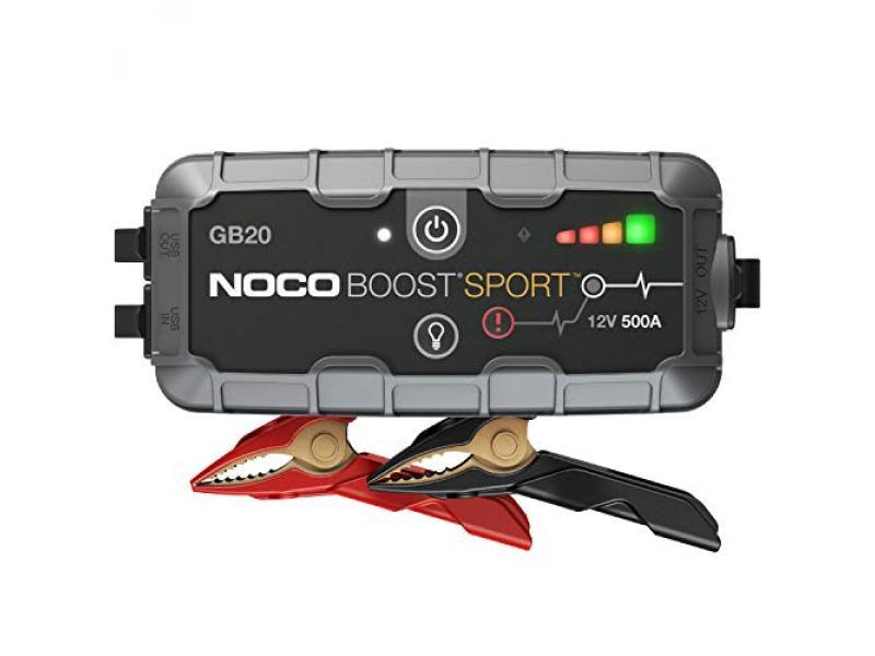 NOCO Boost Sport GB20 500 Amp 12-Volt UltraSafe Lithium Jump Starter Box