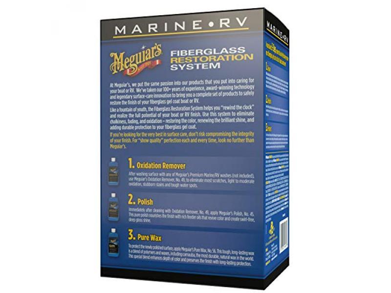 MEGUIARS M4965 Marine/RV Fiberglass Restoration System