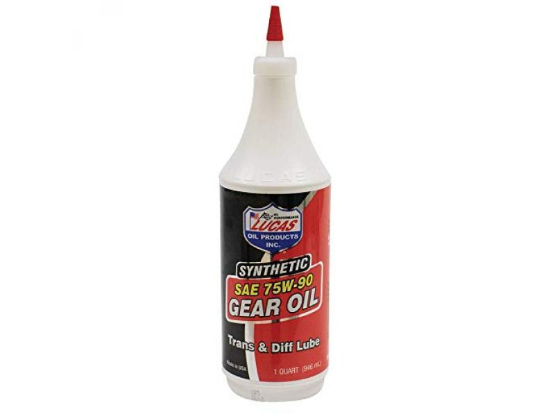 Lucas Oil LUC10047 10047 SAE 75W-90 Synthetic Transmission and Differential Lube