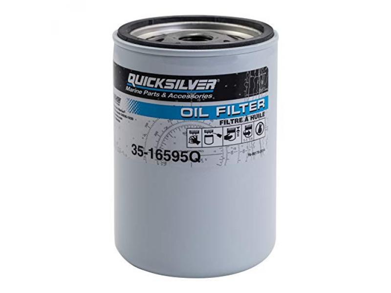 Quicksilver 16595Q Oil Filter - MerCruiser High Performance V-8 Engines