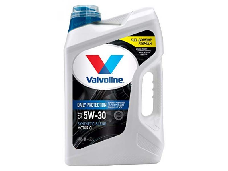 Valvoline Daily Protection SAE 5W-30 Synthetic Blend Motor Oil 5 QT