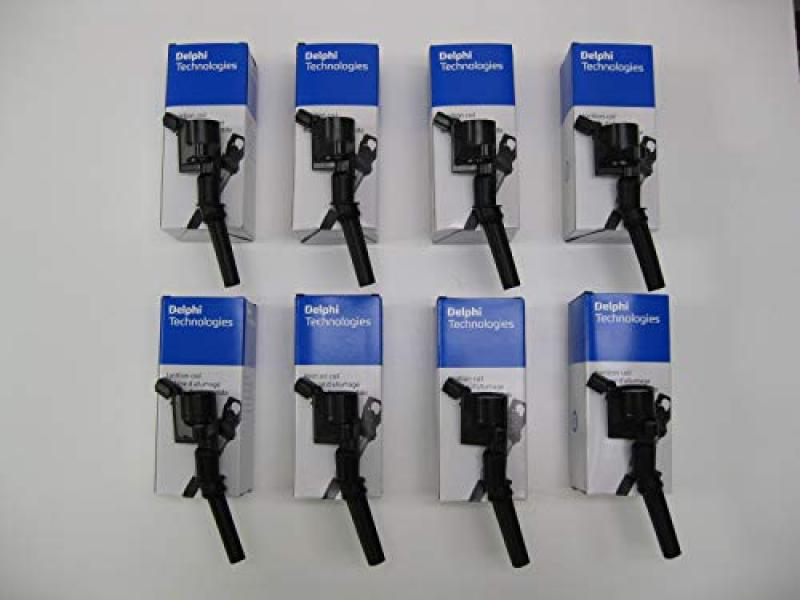 Set of EIGHT Delphi Ignition Coils