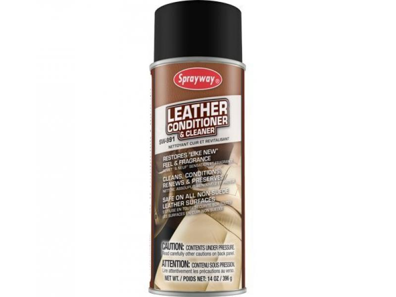 Sprayway SW991 Leather Conditioner and Cleaner