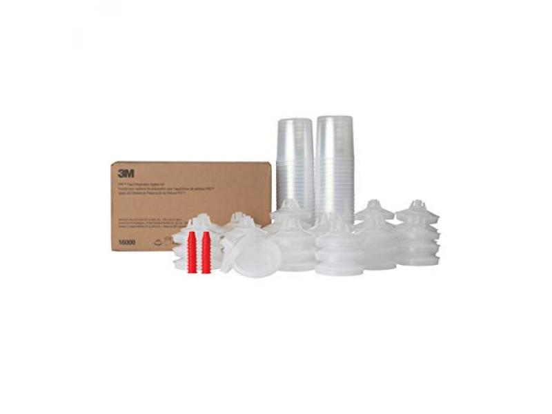 3M PPS (Original Series) Paint Spray Gun Cup Lids and Liners Kit