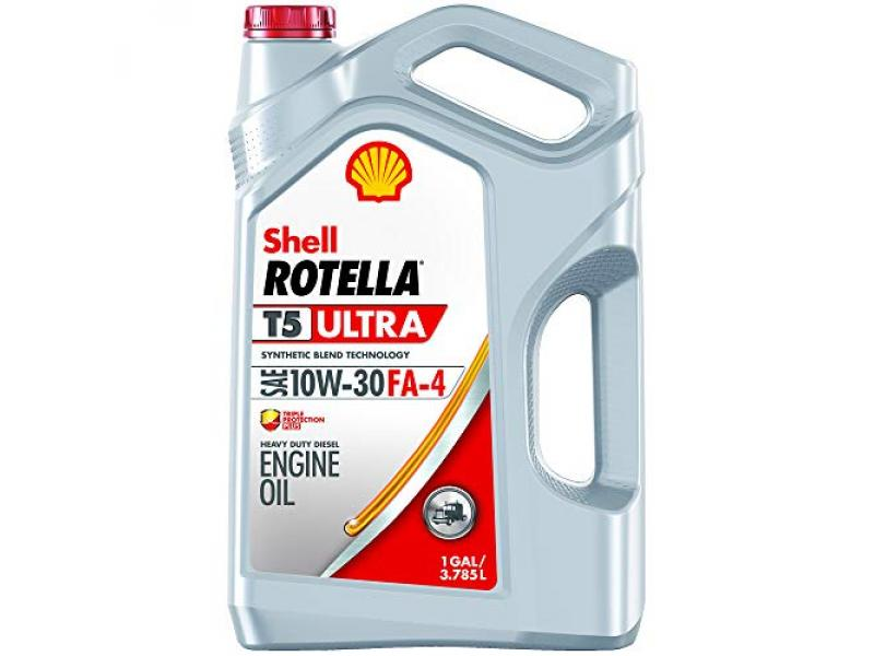 Shell Rotella T5 Ultra Synthetic Blend 10W-30 Diesel Engine Oil (FA-4)