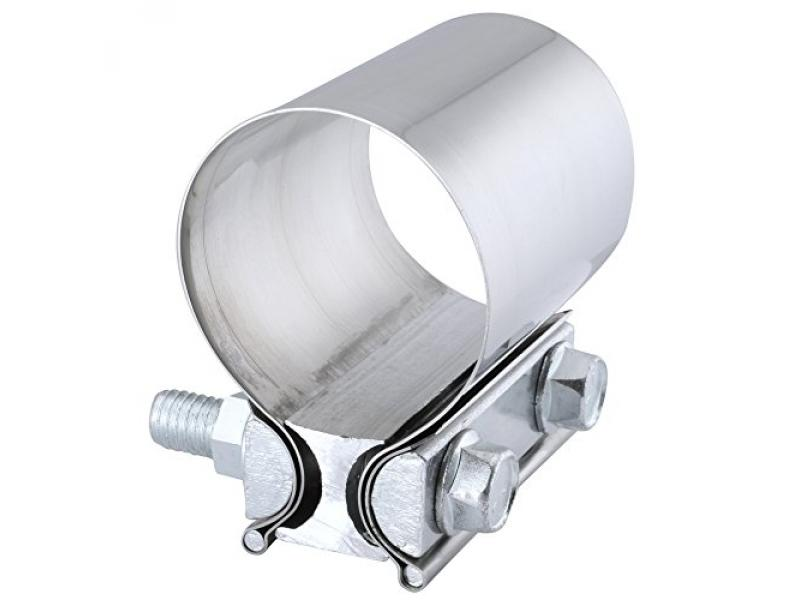 EVIL ENERGY 2.0 Inch Butt Joint Exhaust Band Clamp Sleeve