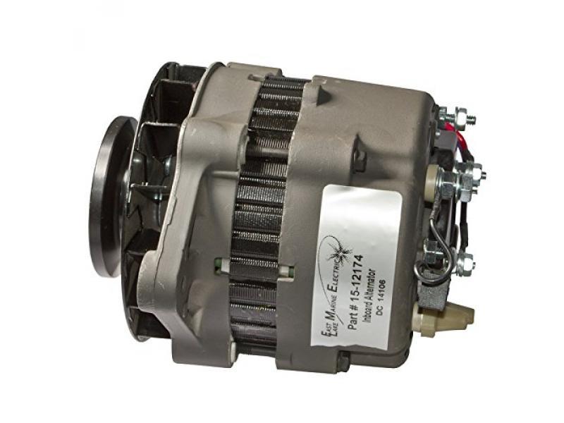 Mercruiser PCM Mando Style Alternator 12V 55 Amp 40147 60050 18-5960
