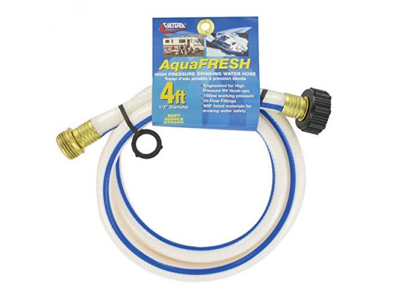 Valterra W01-5048 AquaFresh High Pressure Drinking Water Hose