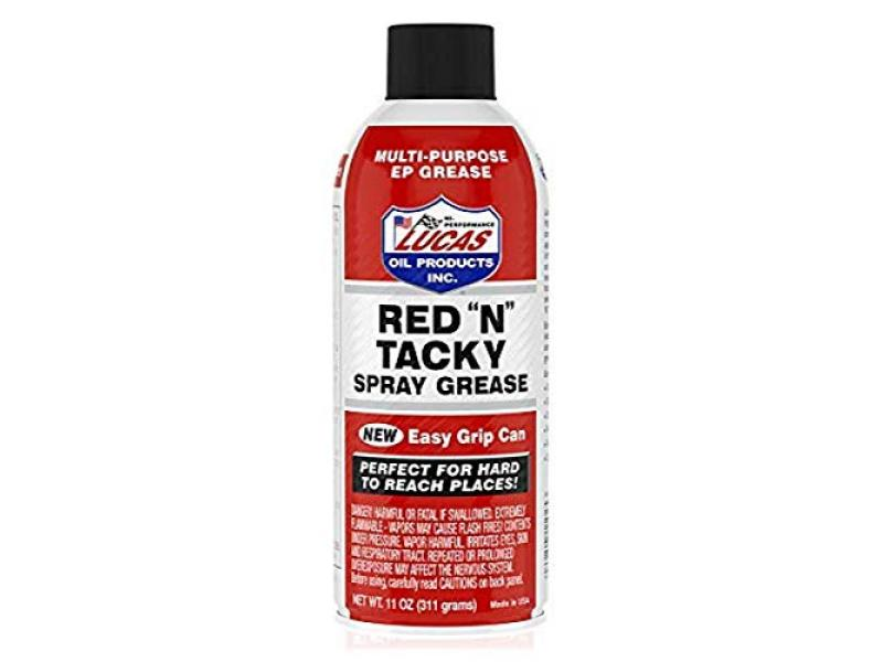 Lucas Oil LUC11025 Red N Tacky Grease Aerosol