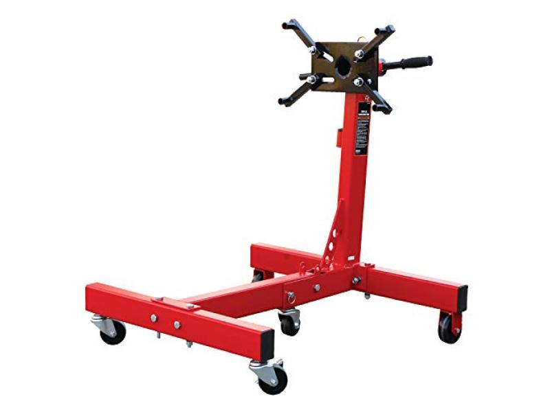 BIG RED T26801 Torin Steel Rotating Engine Stand with 360 Degree Rotating Head and Folding Frame