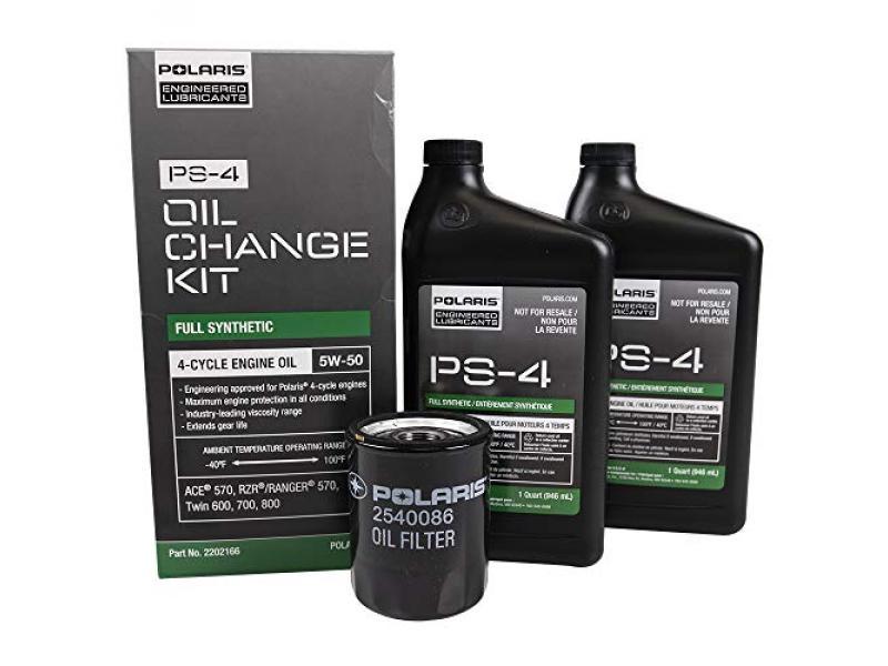 Polaris Ranger 570 4x4 Full Size EPS EFI OEM Oil Change Kit