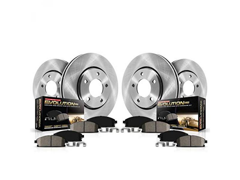 Front and Rear Replacement Brake Kit
