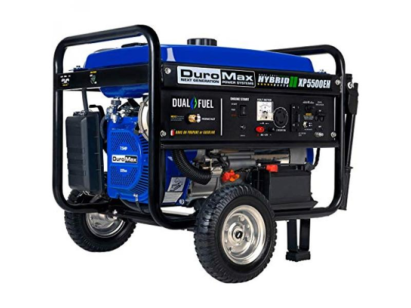 DuroMax XP5500EH Electric Start-Camping
