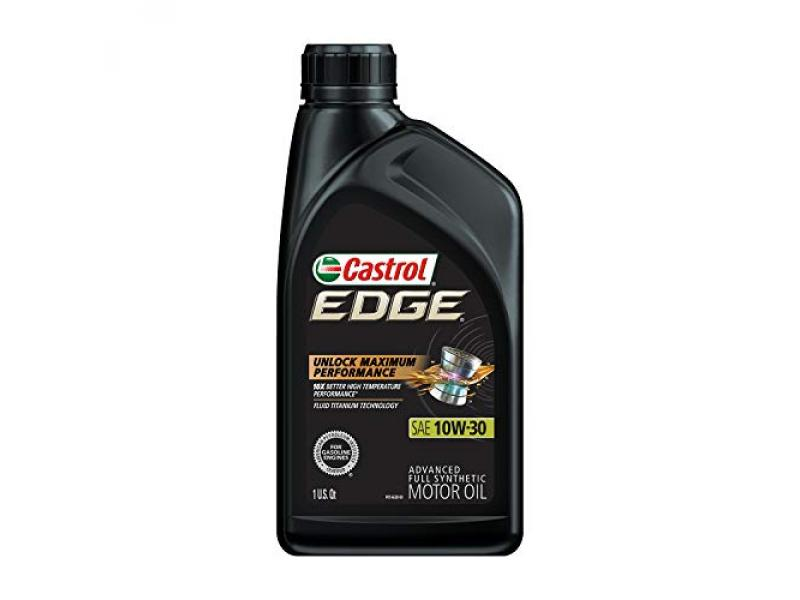 Castrol 06245 Edge 10W-30 Advanced Full Synthetic Motor Oil