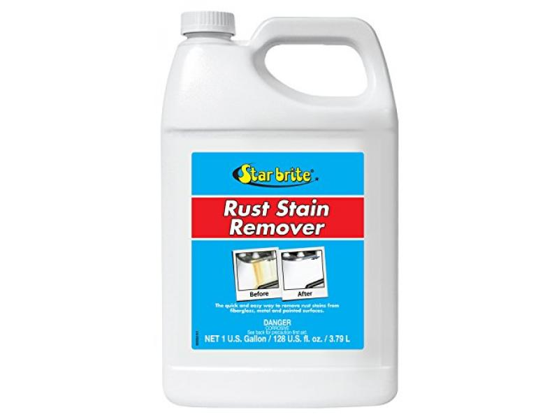 Star brite Rust Stain Remover - Easily Clean Corrosion Stains Off Fiberglass