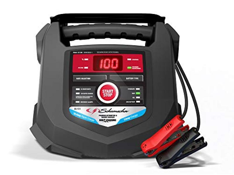 Fully Automatic Smart Battery Charger Maintainer