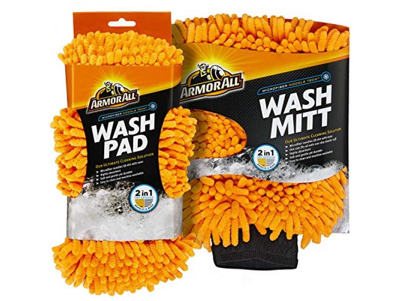 Microfiber Noodle Tech Mitt and Pad