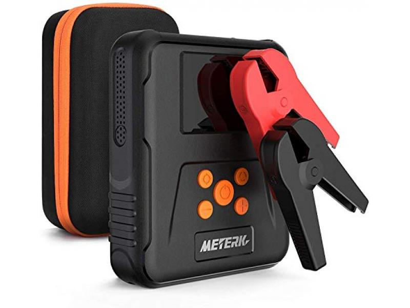 Battery Jump Starter Pack with Air Compressor Portable
