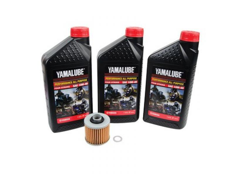 Oil Change Kit With Yamalube All Purpose