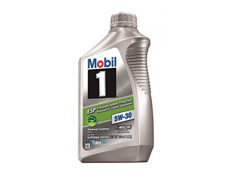 Mobil 1 (103469-12PK ESP Formula 5W-30 Motor Oil - 1 Qt