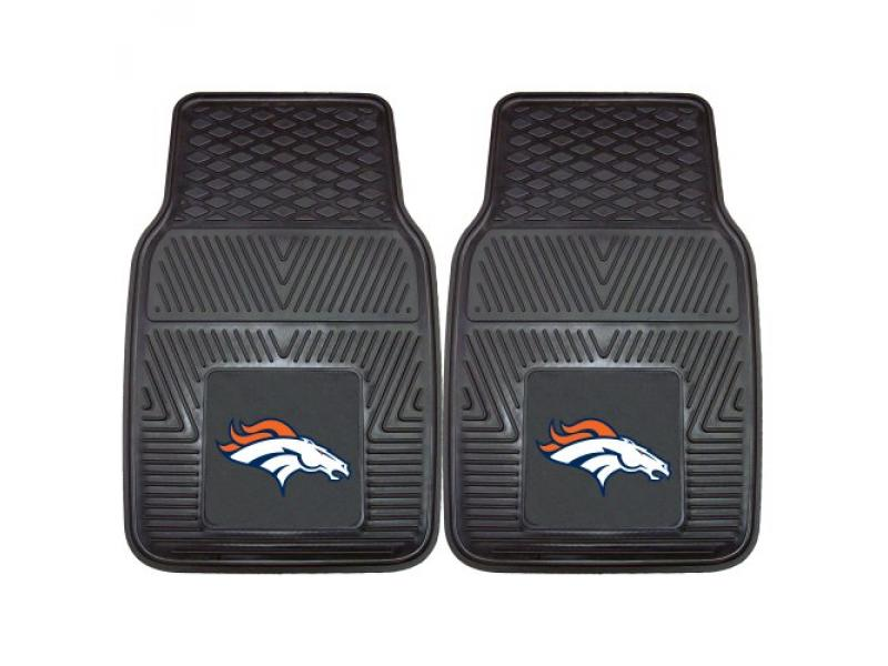 FANMATS 8768 NFL Denver Broncos Vinyl Heavy Duty Car Mat