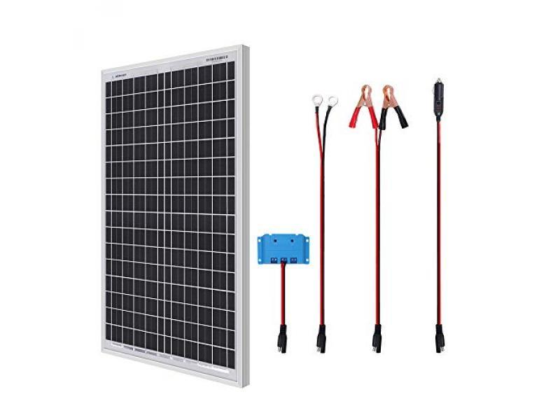 Renogy 30W Monocrystalline Solar Panel