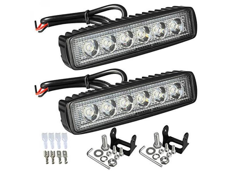 Partsam 6 LED Light Bar