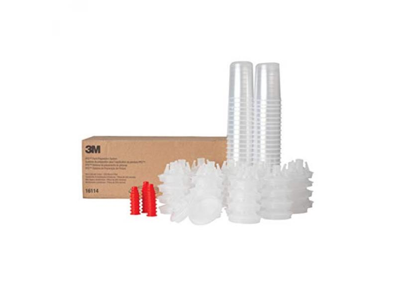 Paint Spray Gun Cup Lids and Liners Kit