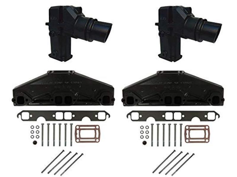 5.0L/5.7L Volvo Penta/OMC Exhaust Manifold & Elbow/Riser Kit. 3847501, 3862627