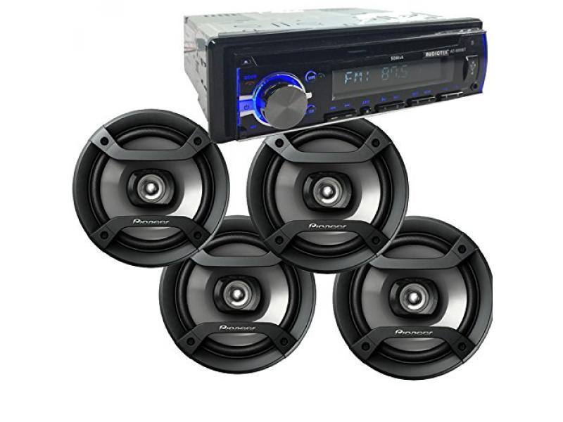 6.5 Peak 200W 2-Way Speakers + Audiotek