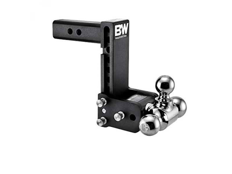 B&W TS10049B Tow and Stow Magnum Receiver Hitch Ball Mount