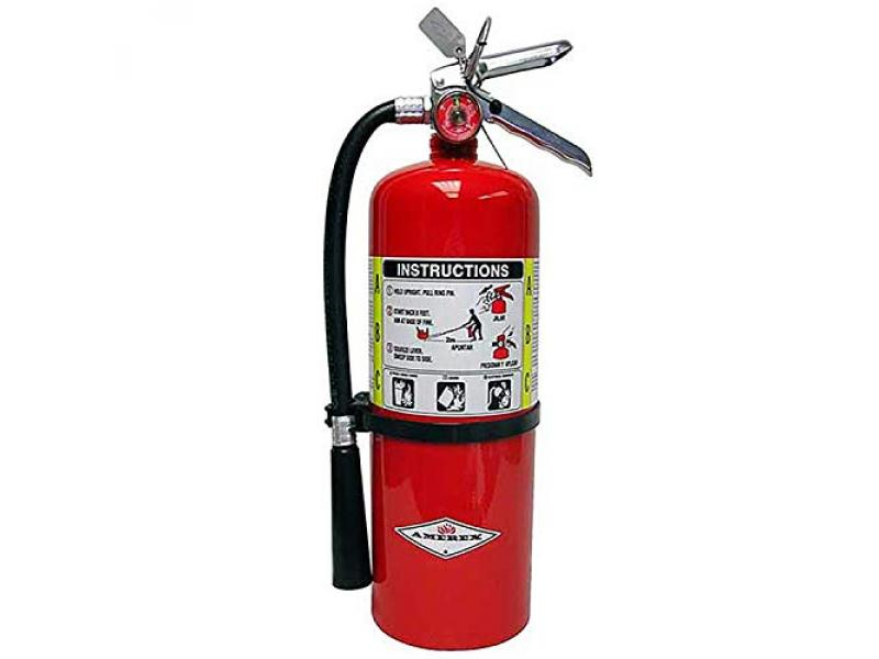 5lb ABC Dry Chemical Class A B C Fire Extinguisher