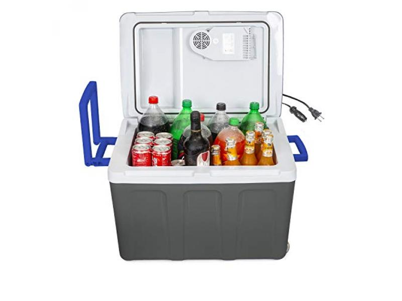K-box Electric Cooler and Warmer with Wheels