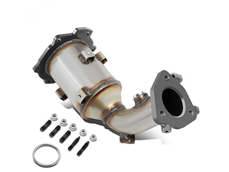 DNA Motoring OEM-CONV-037 Factory Style Catalytic Converter Exhaust Pipe