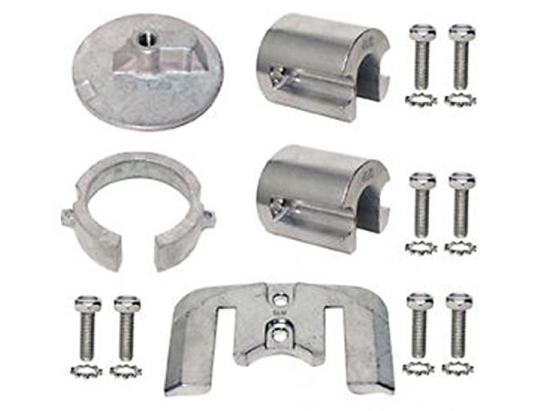 Mercruiser Bravo 1 Zinc Anode Kit for Alpha Gen II Part# 455-20803 OEM# 888758Q01
