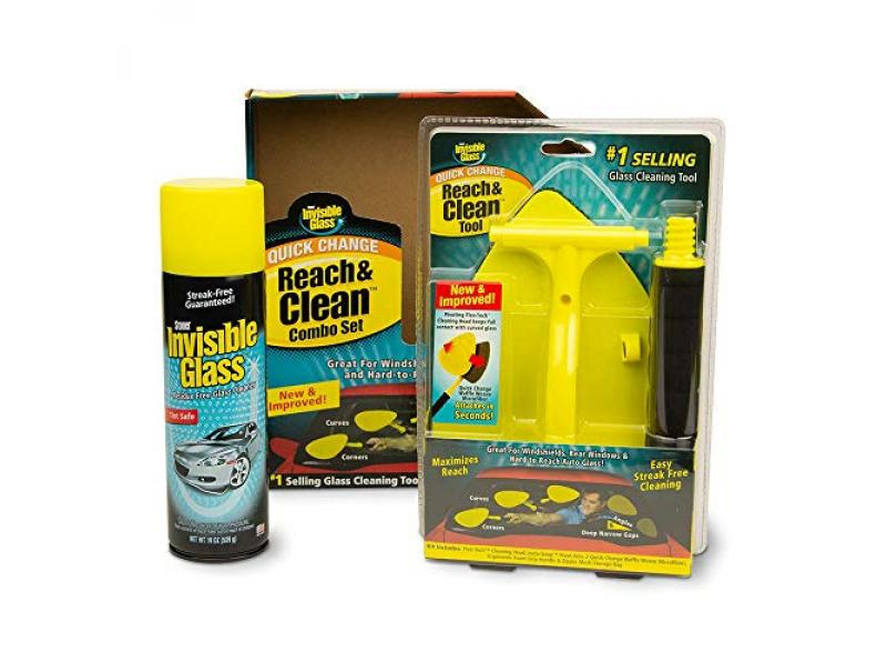 Invisible Glass 99031 Reach and Clean Tool Combo Kit