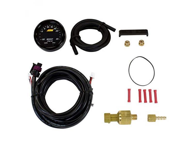 AEM 30-0306 X-Series Boost Pressure Gauge