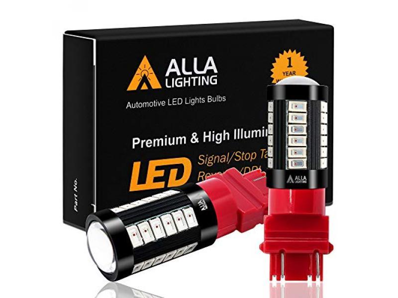 Alla Lighting 2800lm T20 Base 3156 3157 LED Bulbs