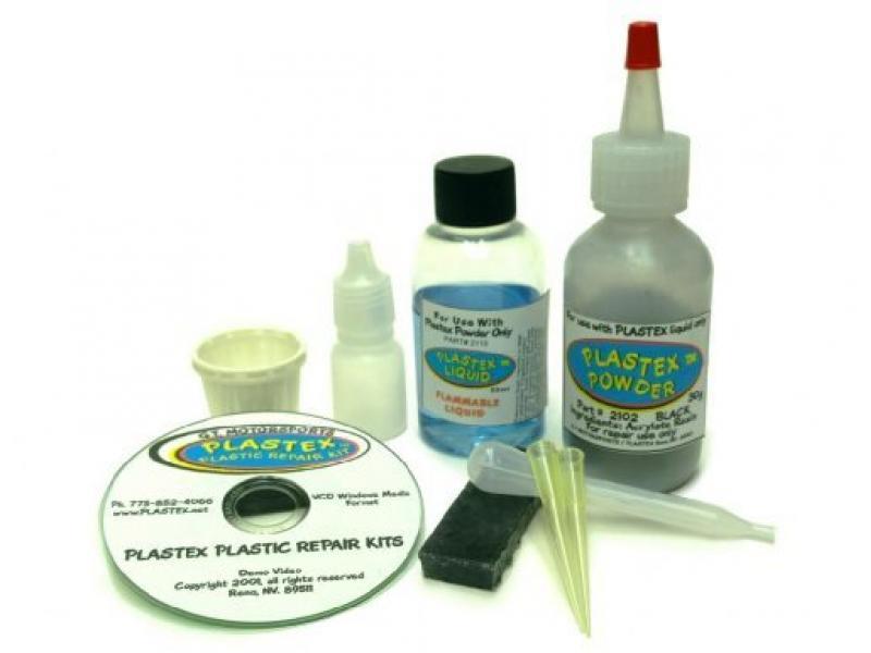 Plastex Plastic Repair Kits - Easily Glue