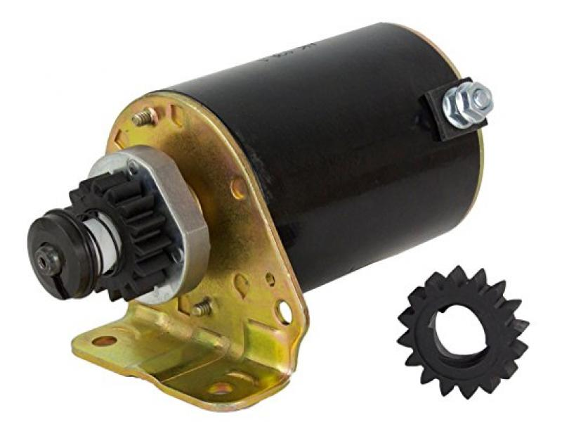 Rareelectrical New Starter Motor Compatible With Briggs & Stratton Cooled Engines
