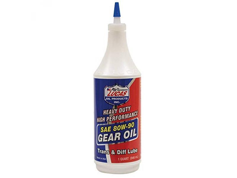 Lucas Oil LUC10043 Oil SAE 80W-90 Heavy Duty Gear Oil - 1 Quart