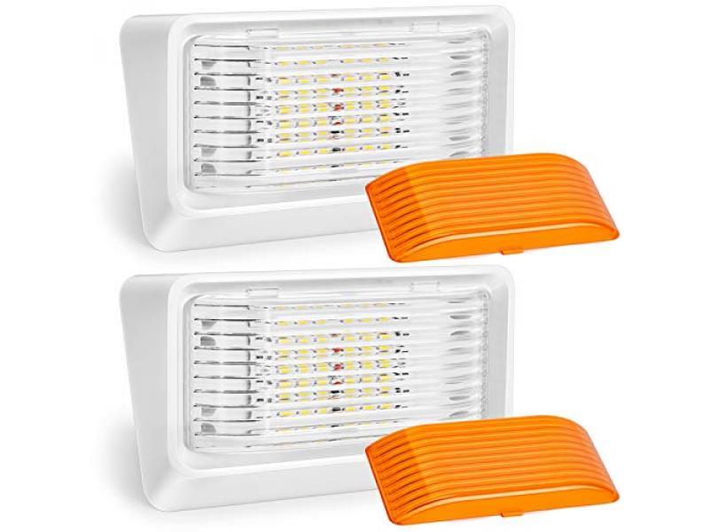 Kohree LED RV Porch Light Exterior Utility 12V Lighting Fixture LED Panel