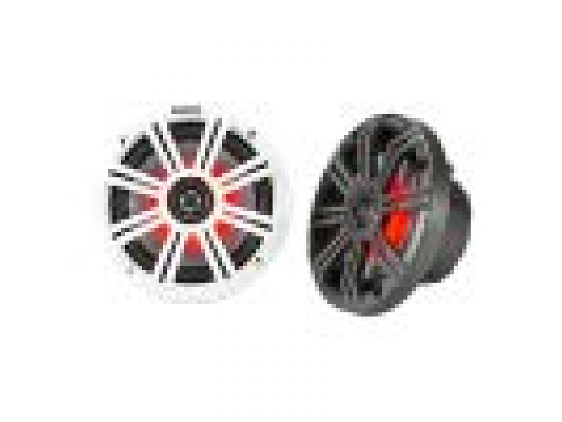 Kicker 6.5 Inch KM-Series LED Marine Speakers 43KM654LCW