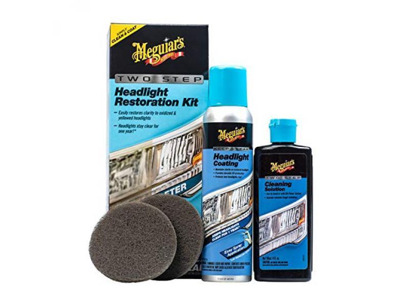Meguiars G2970 Two Step Headlight Restoration Kit