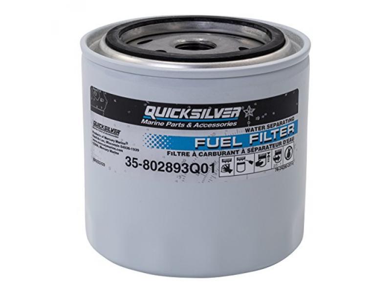 QuickSilver 802893Q01 Fuel/Water Separating Filter Quicksilver/Mercury