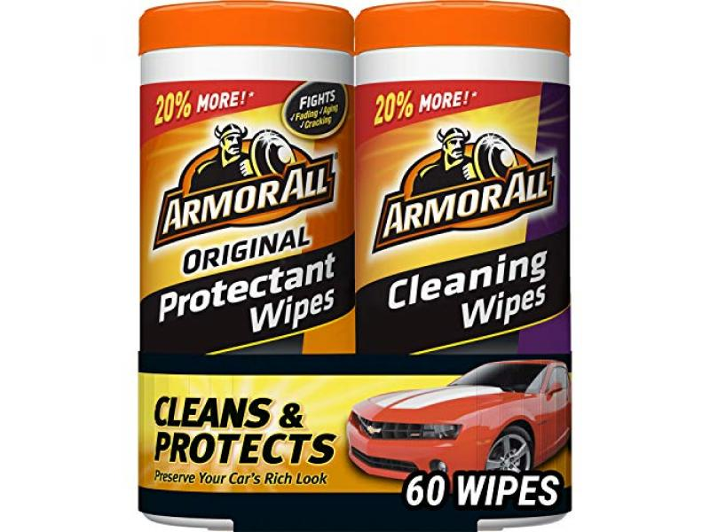 Armor All Car Interior Cleaner Protectant Wipes