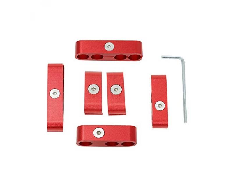 EASYBERG Spark Plug Wire Separators Aluminum Kit