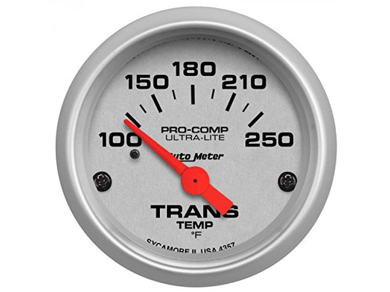 Auto Meter 4357 Ultra-Lite Electric Transmission Temperature Gauge