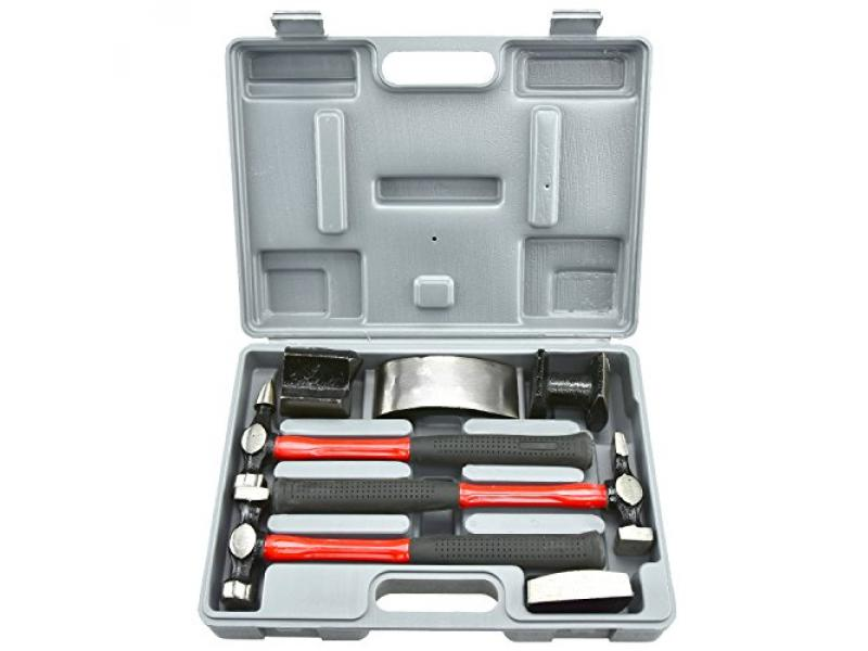 NEIKO 20709A Auto Body Fender Repair Hammer and Dolly Set